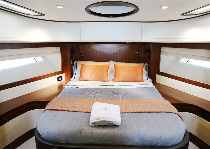 VIP Stateroom is for'ard in the Longreef 60 SX - photo © Jennifer McKinnon
