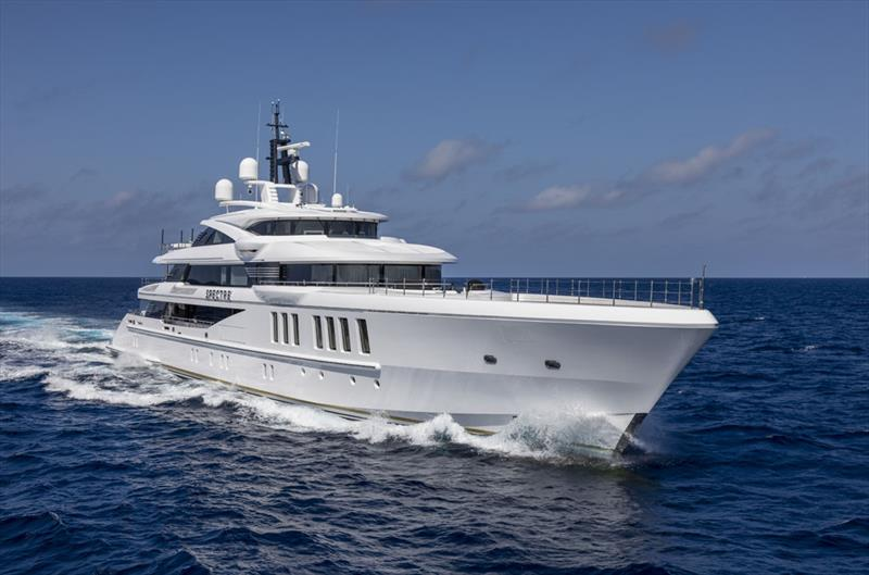 69m Benetti M/Y Spectre photo copyright Sand People taken at  and featuring the Power boat class