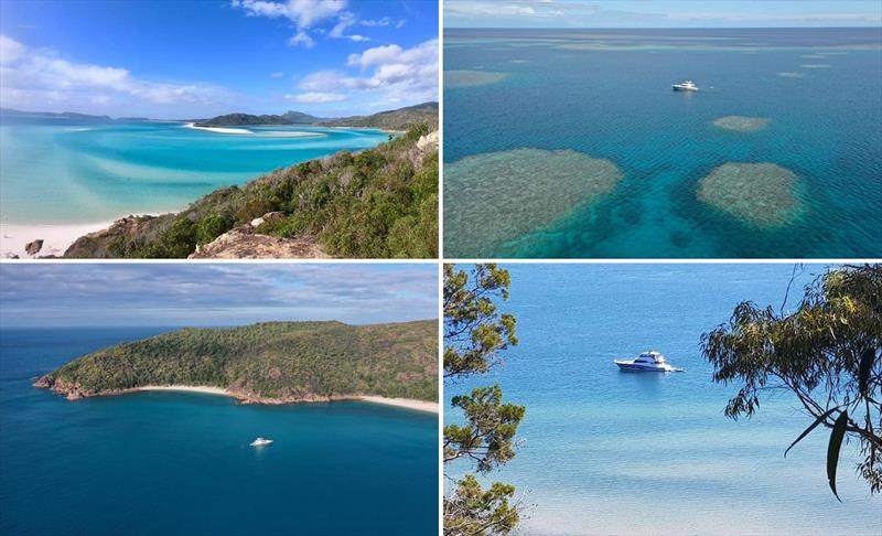 Cruising the magical Whitsunday Islands aboard a Riviera 68 Sports Motor Yacht - photo © Riviera Australia