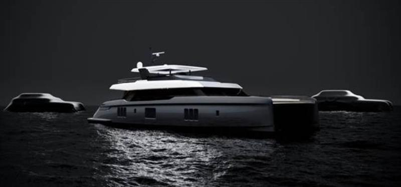 Two new motoryacht models join Sunreef Yachts' range photo copyright Vicsail taken at  and featuring the Power boat class