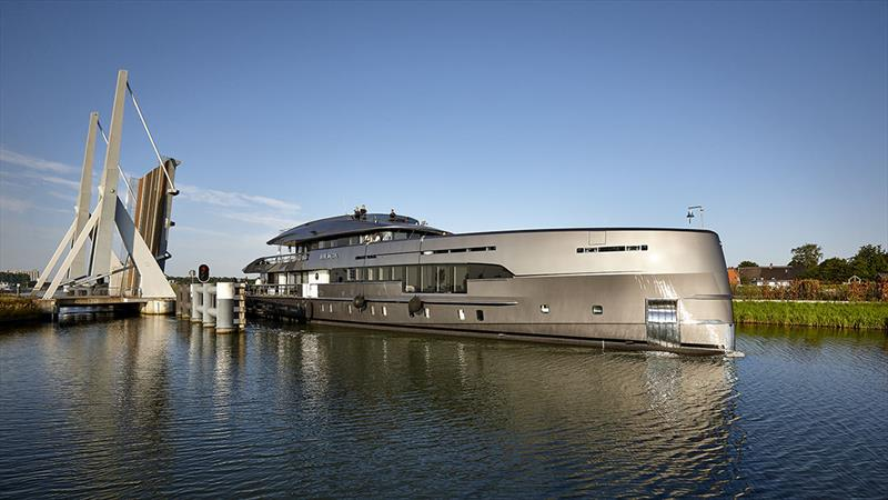 50m Project Boreas  - photo © Dick Holthuis Photography