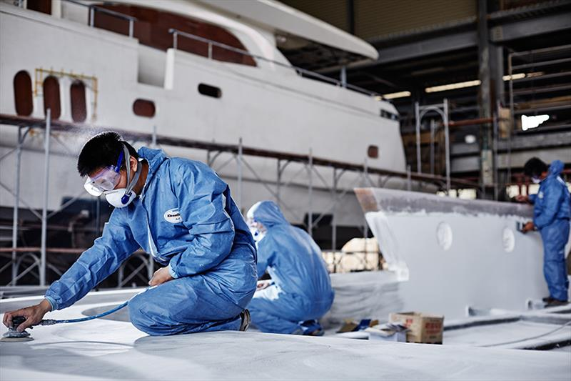 Johnson Yachts shipyard - photo © Sand People