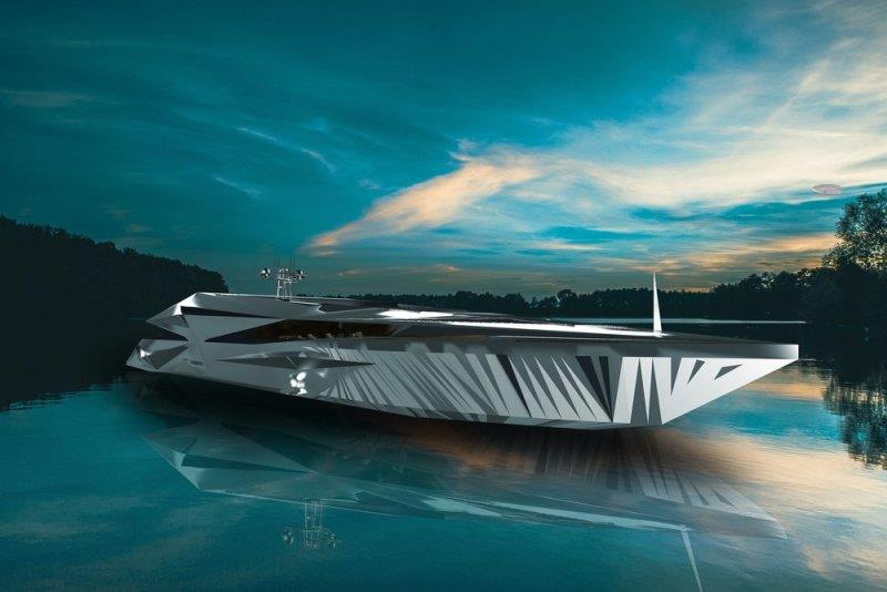 Multidimensional - Superyacht Roswell photo copyright George Lucian taken at  and featuring the Power boat class