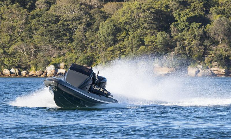Safe and also utterly hilarious - Ribco R28s photo copyright John Cunrow taken at  and featuring the Power boat class