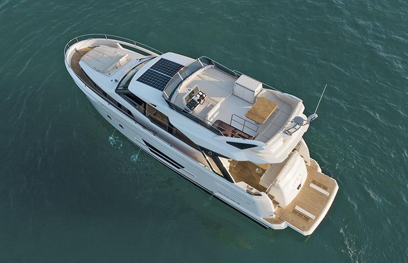 Greenline 45 Fly drone upper side - photo © Greenline Yachts