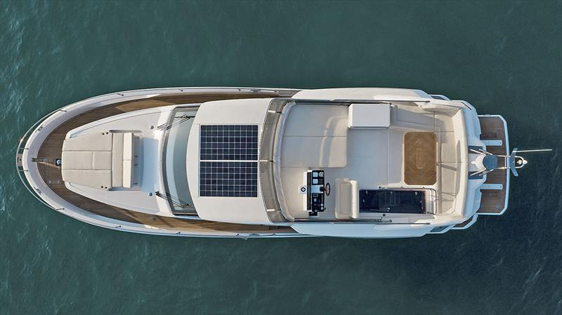 Greenline 45 Fly drone birdperspective - photo © Greenline Yachts