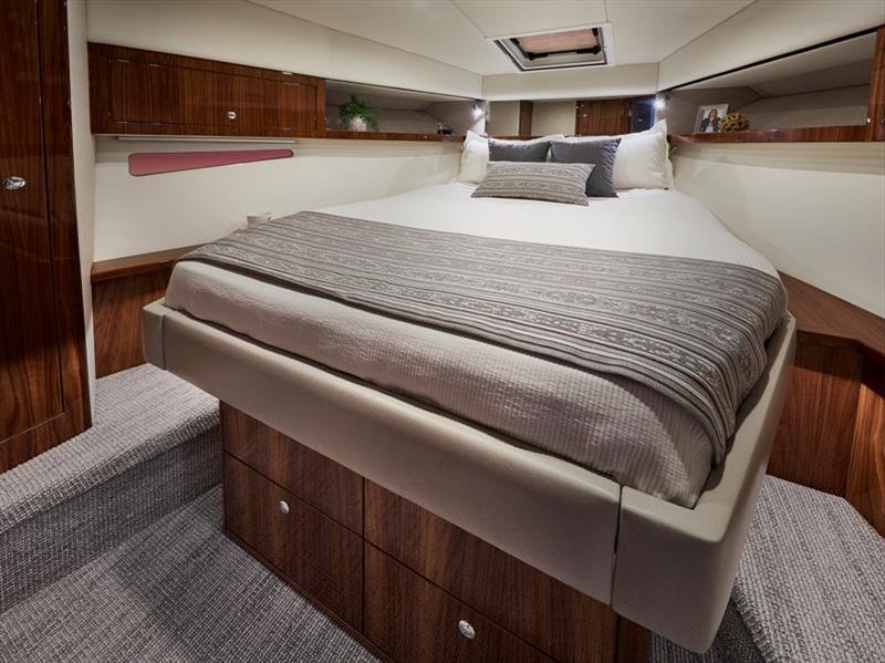 Riviera 39 Open Flybridge Master Stateroom - photo © Riviera Australia