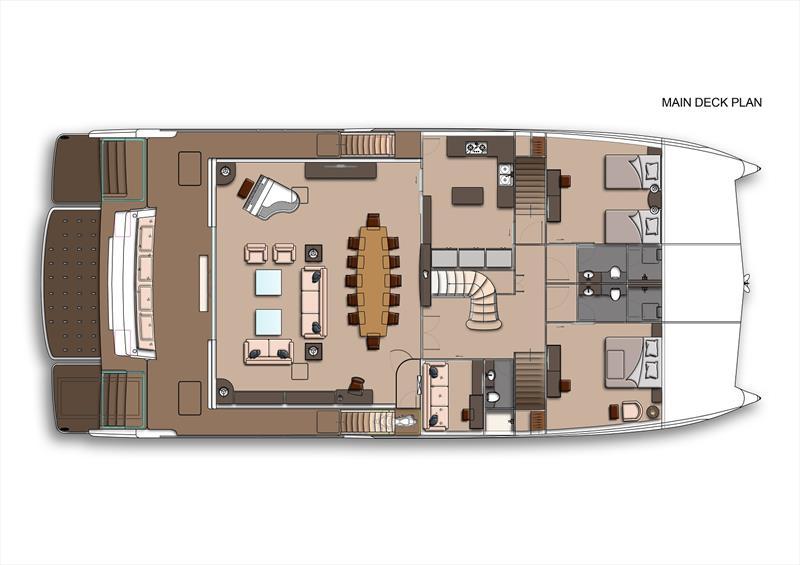 New AmaSea 84 catamaran: Culmination of efficiency and