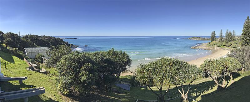 The view from the famous Pacific Hotel in Yamba - Riviera trip Gold Coast to Sydney - photo © John Curnow