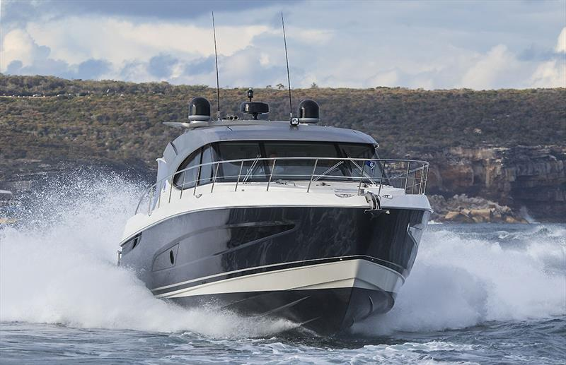 Quick, impressive, spacious, smooth - one is handy on any boat, but awesome when all in the one! (5400 Sport Yacht) - Riviera trip Gold Coast to Sydney - photo © John Curnow