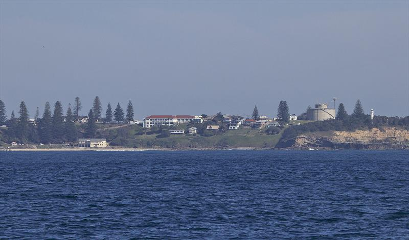 Yamba's famous Pacific Hotel, as seen from the water - Riviera trip Gold Coast to Sydney - photo © John Curnow
