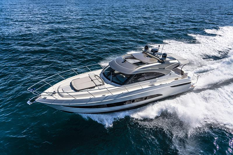 Riviera 4800 Sport Yacht Series II Platinum Edition - photo © Riviera Studio