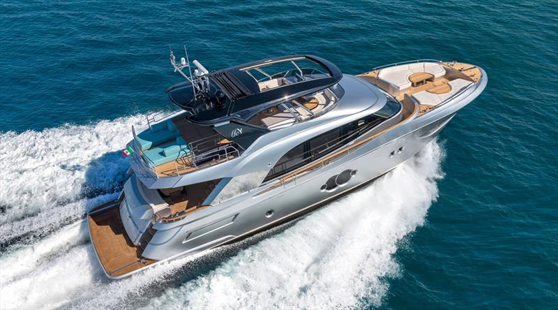 The new MCY 76 - photo © Monte Carlo Yachts