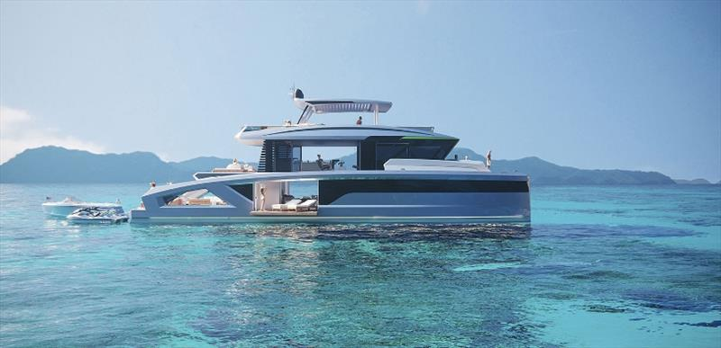 Corona 85 photo copyright Corona Yachts taken at  and featuring the Power boat class