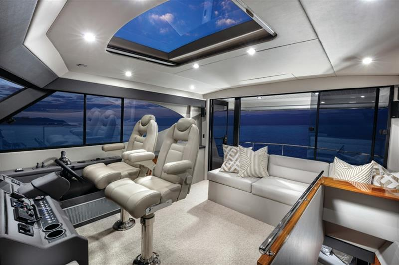 Maritimo M51 Flybridge photo copyright Darren Gill / Oska Studio taken at  and featuring the Power boat class