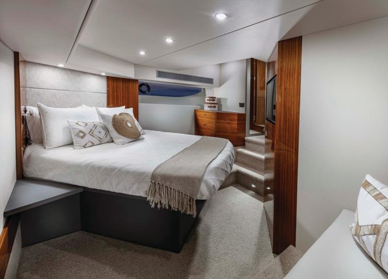 Maritimo M51 Master Room photo copyright Darren Gill / Oska Studio taken at  and featuring the Power boat class