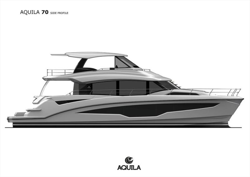 Aquila 70 photo copyright Aquila taken at  and featuring the Power boat class