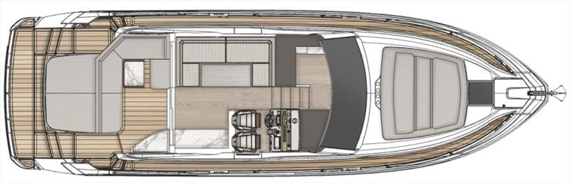 CGI of Fairline Targa 45 GT photo copyright Fairline Yachts taken at  and featuring the Power boat class