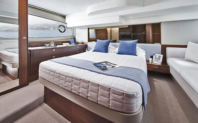 Princess Yachts F50 - Owners Stateroom - photo © Princess Yachts