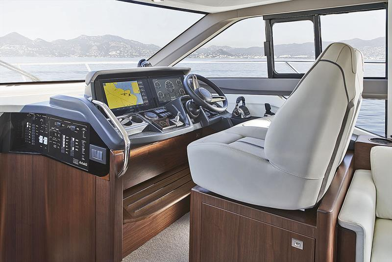 Princess Yachts F50 - Helm - photo © Princess Yachts