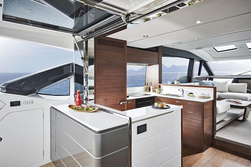 Princess Yachts S66 - Galley - photo © Princess Yachts