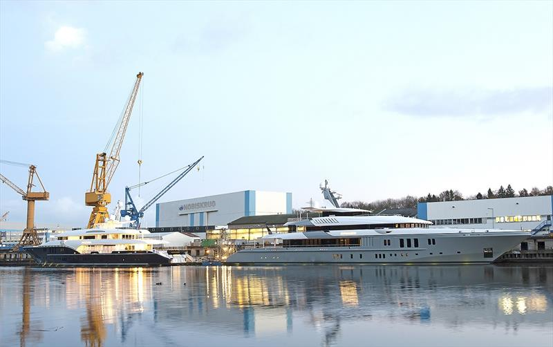 Nobiskrug Werft photo copyright Christian Rohweder taken at  and featuring the Power boat class