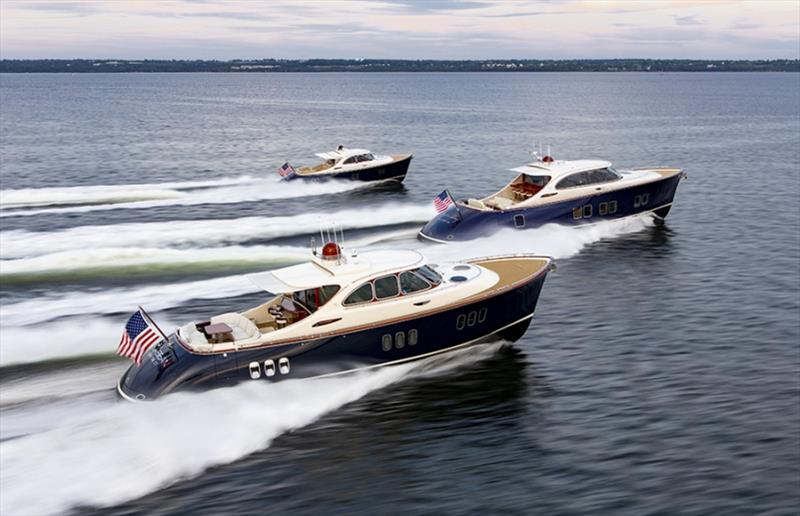 Zeelander Yachts full line-up photo copyright Zeelander Yachts taken at  and featuring the Power boat class