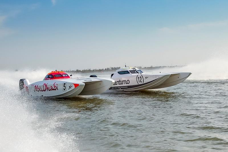 Round 2 of UIM XCAT World Championship in Shanghai photo copyright Raffaello Bastiani taken at  and featuring the Power boat class