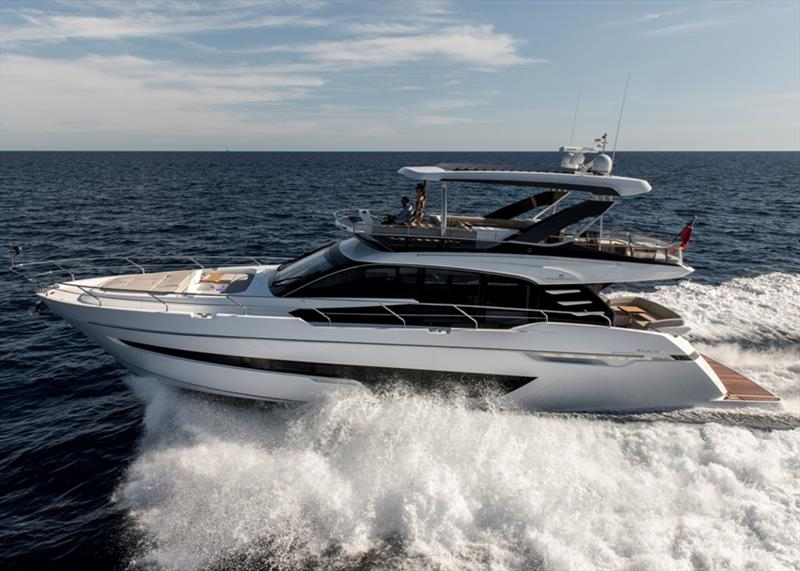 Squadron 68 - photo © Fairline Yachts