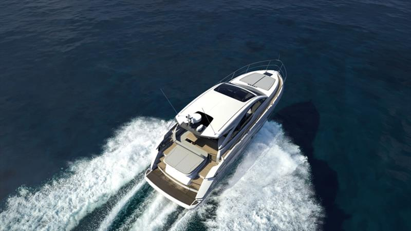 Targa 45 GT - photo © Fairline Yachts