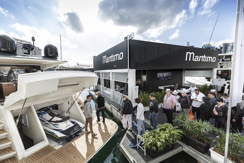 The new Maritimo X50 is just one  of the models that have resonated with buyers in the USA who were very impressed with the award on-water boat show experience centre that was shipped to America for the Fort Lauderdale show. - photo © Paul Wilson