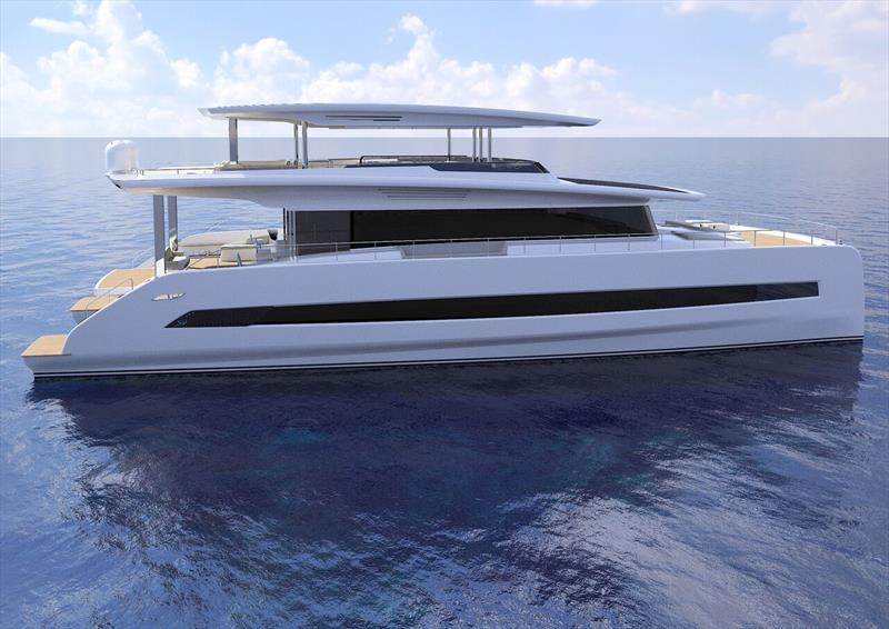 Silent 80 Tri-Deck - photo © Silent Yachts