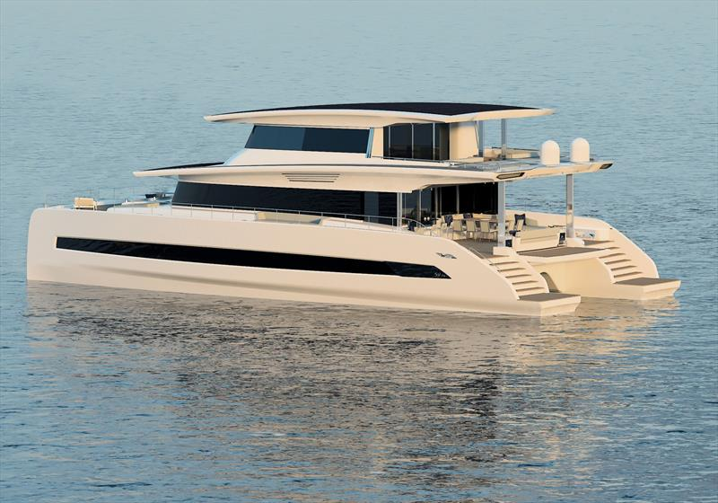 Silent 80 Tri-Deck photo copyright Silent Yachts taken at  and featuring the Power boat class