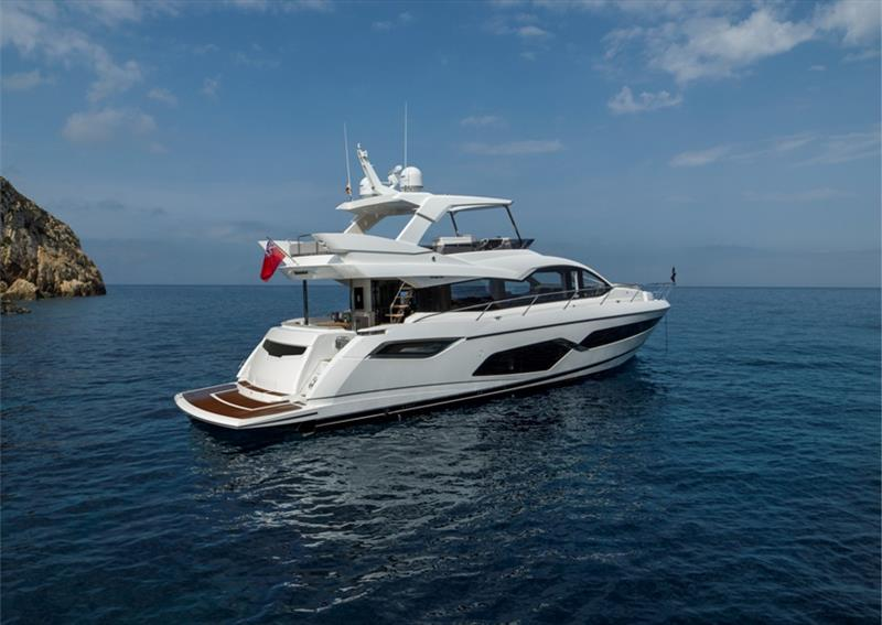 Manhattan 68 photo copyright Sunseeker taken at  and featuring the Power boat class