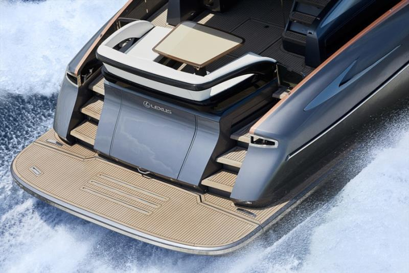 Lexus LY 650 stren detail photo copyright Nuvolari Lenard taken at  and featuring the Power boat class