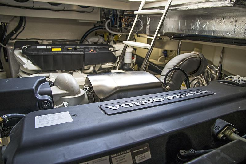 Volvo Penta IPS950s are the power upgrade on board the Riviera 505 SUV World Premiere - photo © John Curnow
