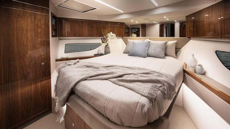 VIP Guest Stateroom up for'ard - Riviera 505 SUV World Premiere - photo © Riviera Australia
