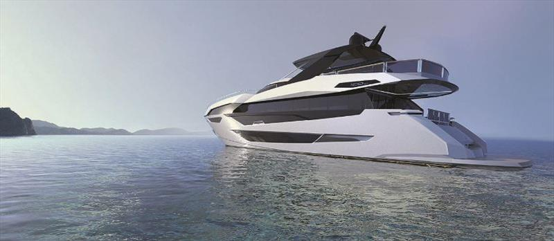 Sunseeker's new 100 Yacht - photo © Sunseeker International