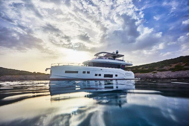 Sirena 64 photo copyright Sirena Yachts taken at  and featuring the Power boat class