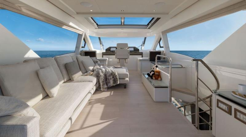 MCY 70 Skylounge - photo © Monte Carlo Yachts