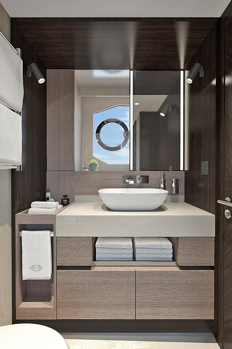 Manhattan 68 Master En-suite photo copyright Sunseeker International taken at  and featuring the Power boat class