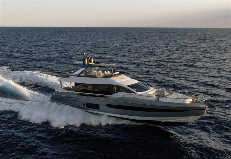 Azimut 78 Flybridge photo copyright Azimut Yachts taken at  and featuring the Power boat class