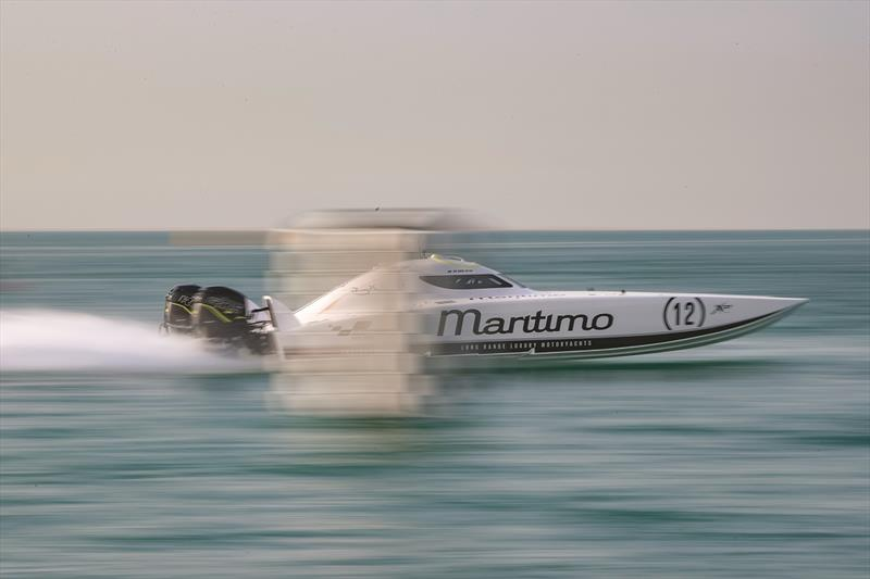 Maritimo's Ross Willaton and Tom Barry-Cotter are the current UIM XCAT World champions. photo copyright Raffaello Bastiani raffaellophoto@gmail.com  393474343666 ITA taken at  and featuring the Power boat class