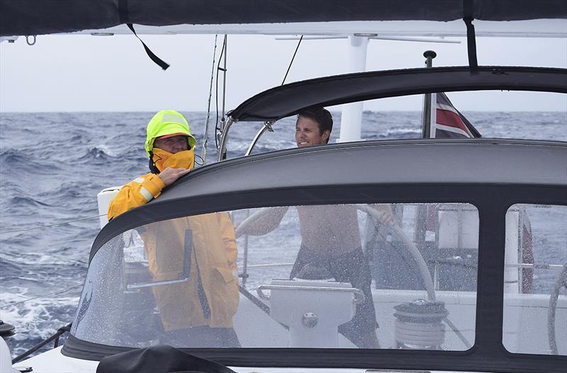 Atlantic - photo © Chris Tilley during his Atlantic Crossing (Rod Stewart rocks on...)