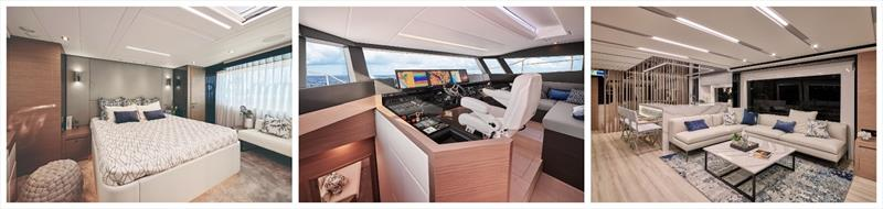 Horizon FD75 photo copyright Horizon Yachts  taken at  and featuring the Power boat class
