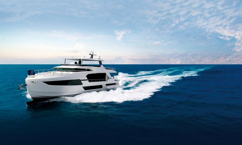 Horizon FD75 - photo © Horizon Yachts