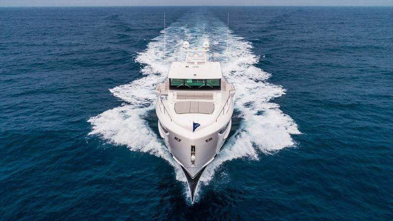 Horizon FD80 photo copyright Horizon Yachts taken at  and featuring the Power boat class
