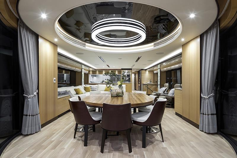 Horizon FD102 photo copyright Horizon Yachts taken at  and featuring the Power boat class