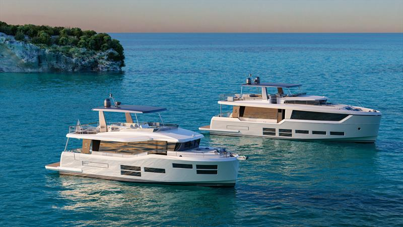Project E from Beneteau - large, medium speed and long range cruisers - photo © Beneteau