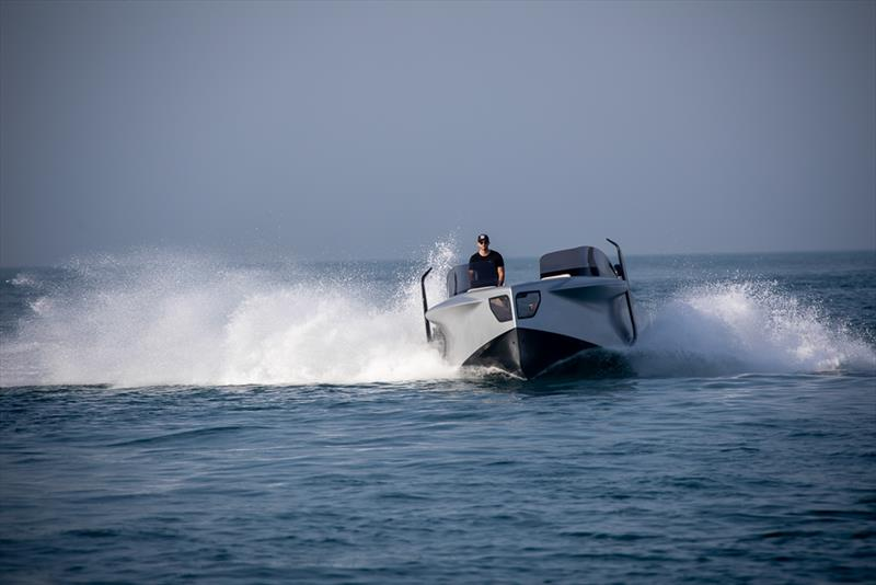 Enata Foiler photo copyright Timata taken at  and featuring the Power boat class